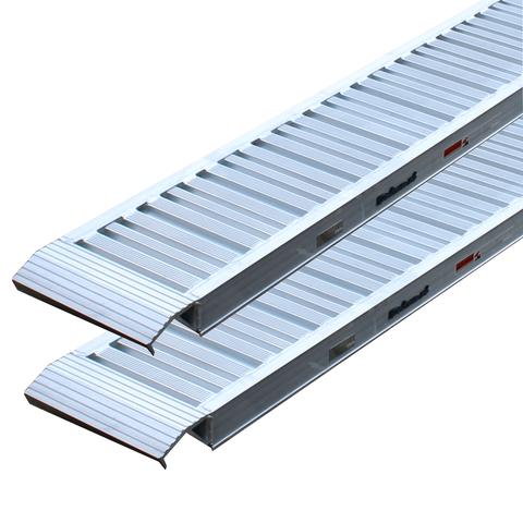 Aluminium oprijplaten auto - 240 cm - 3 ton (2 stuks)