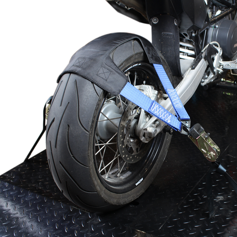 Wielharnas voor motorfietsen