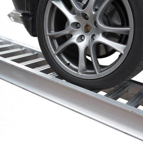 Aluminium oprijplaat auto - 250 cm - 2 ton