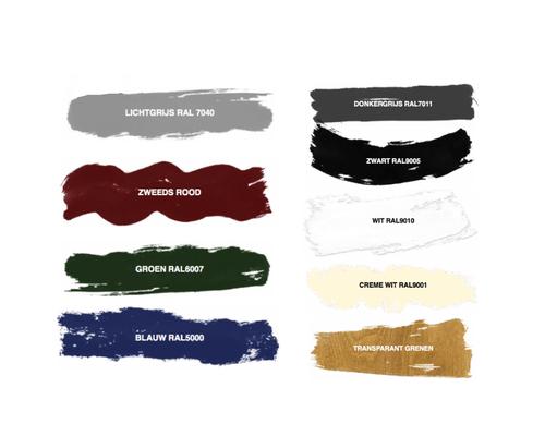 Coaten Wandlaag Basiskleur (2-laags) - (levertijd 8-14 weken)