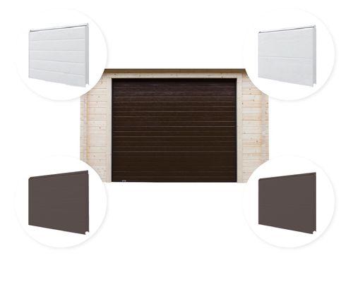 Sectionaaldeur Garage Interflex
