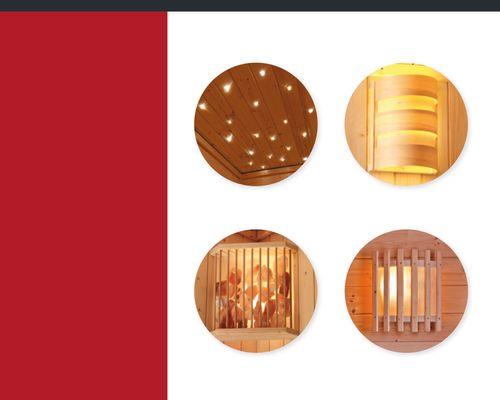 Verlichting sauna