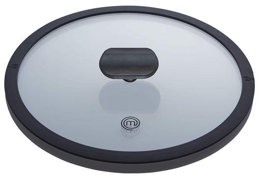 MasterChef Cast Aluminium Casserole Pan 24 cm Lid