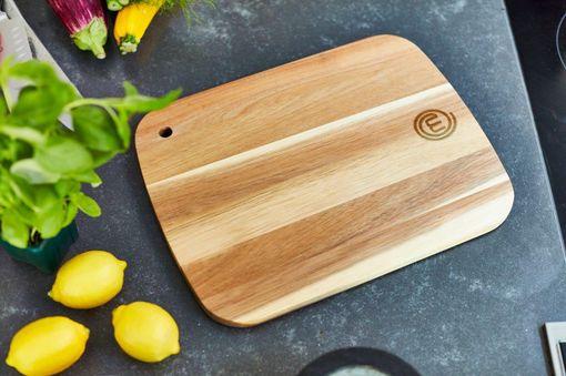 MasterChef Acacia Wood Chopping Board Small Beauty