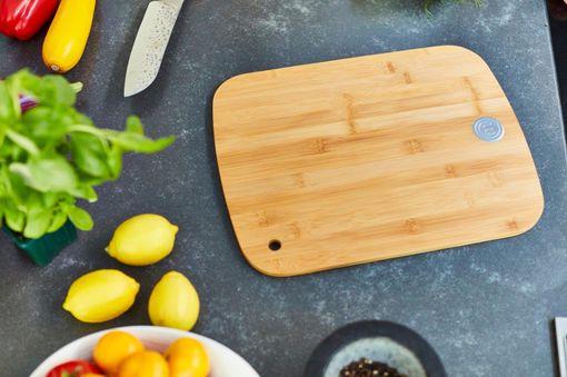 MasterChef Medium Bamboo Wood Cutting Board Beauty 2