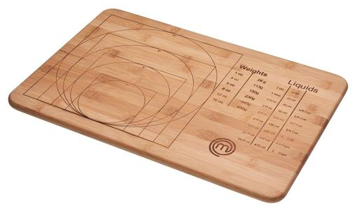 MasterChef Bamboo Weights and Measures Cutting Board