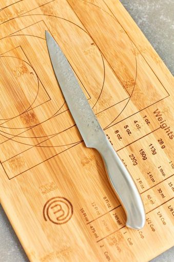 MasterChef Bamboo Weights and Measures Cutting Board Beauty