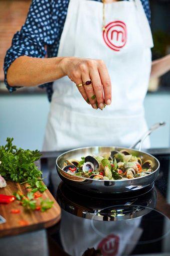 MasterChef Copperline Frying Pan 20 cm Beauty