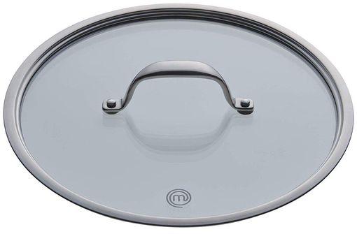 MasterChef Copperline Casserole Pan Glass Lid 16 cm