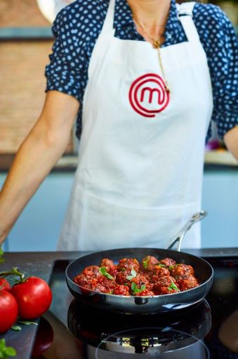 MasterChef Tri-Ply Non-Stick Frying Pan 20 cm Beauty
