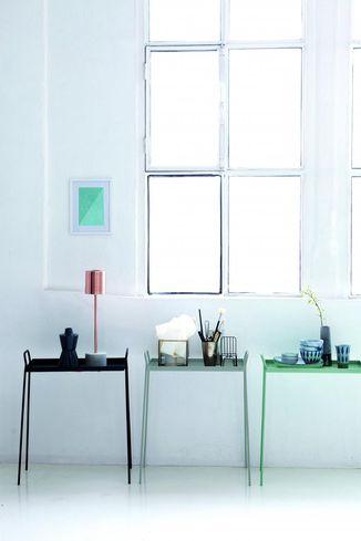 House doctor bijzettafel bak grijs metaal designwonen for House doctor verlichting