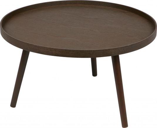 woood beistelltisch mesa l wallnuss holz 60x30cm. Black Bedroom Furniture Sets. Home Design Ideas