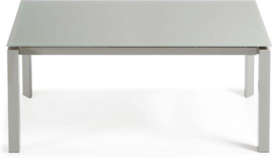 laforma esstisch kila grau glas epoxy ausziehbar 160 230 x90 la forma. Black Bedroom Furniture Sets. Home Design Ideas