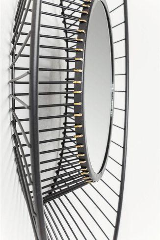 kare design spiegel filo 51cm meubelen verlichting. Black Bedroom Furniture Sets. Home Design Ideas