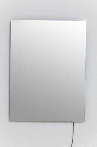 kare design spiegel tube 80x60cm led. Black Bedroom Furniture Sets. Home Design Ideas