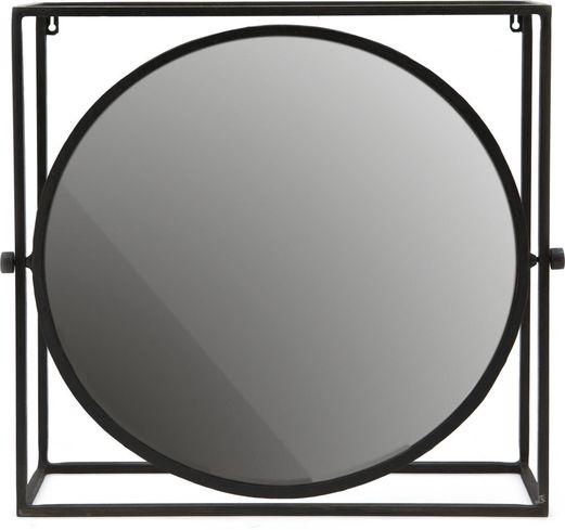 By boo spiegel in rahmen rund spiegelglas metall by boo - Spiegel kupfer rahmen ...