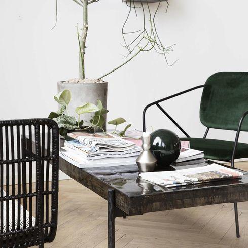 house doctor tisch close 140 x 50 cm. Black Bedroom Furniture Sets. Home Design Ideas