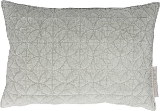 Dit mooie Vintage sierkussen van Stapelgoed is gemaakt van zacht katoen met een ingewerkt patroon aan de voorzijde. De achterzijde is gemaakt van natuurlijk linnen. Het kussen wordt geleverd met binnenkussen.  - Afmetingen (lxb): 40x60 cm