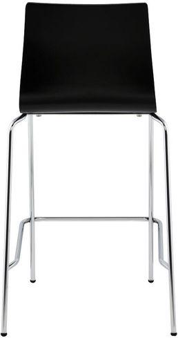 barhocker cobe schwarz holz 50x54x94 kokoon design kaufen wohn und. Black Bedroom Furniture Sets. Home Design Ideas