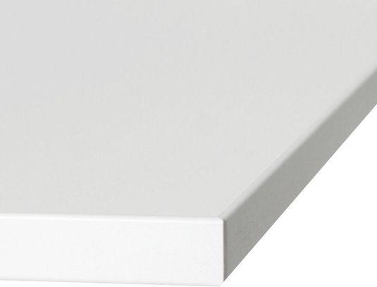 Tischplatte wei holz 80x80x2 kokoon design kaufen for Design tischplatte