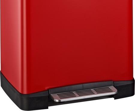 abfalleimer big double boy rot 2 x 18 liter wesco kaufen wohn und. Black Bedroom Furniture Sets. Home Design Ideas