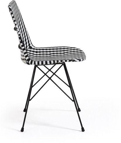 stuhl atalaia epoxy schwarz wei la forma kaufen wohn und. Black Bedroom Furniture Sets. Home Design Ideas