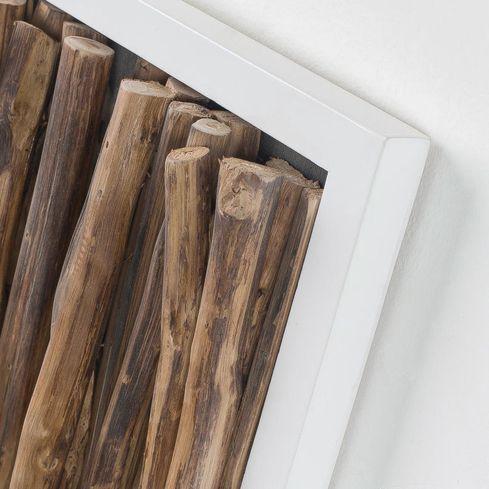 wanddekoration ferny holz naturell la forma kaufen wohn und. Black Bedroom Furniture Sets. Home Design Ideas