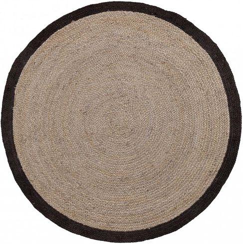 teppich samy rund 200 cm grau la forma kaufen wohn und. Black Bedroom Furniture Sets. Home Design Ideas
