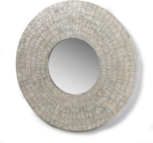 Spiegel elka rund 90 cm mosaik la forma kaufen - Spiegel rund 80 cm ...