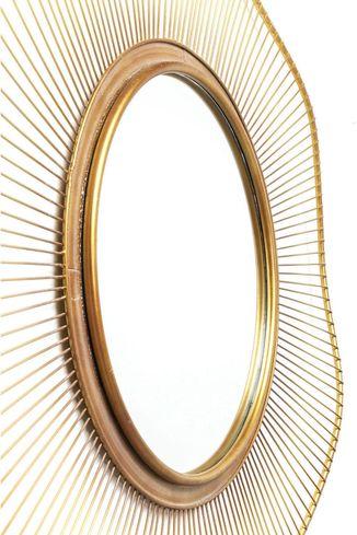 spiegel sun storm 93cm kare design. Black Bedroom Furniture Sets. Home Design Ideas