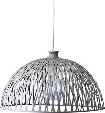 lampenschirm rattan grau 60xh36 cm bloomingville kaufen wohn und. Black Bedroom Furniture Sets. Home Design Ideas