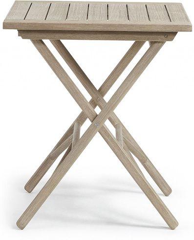 gartentisch picot faltbar 70x70 eukalyptus holz la forma kaufen. Black Bedroom Furniture Sets. Home Design Ideas