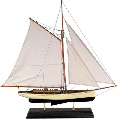 Miniatuur zeilboot 1930 classic as135 authentic models for Decoratie zeilboot