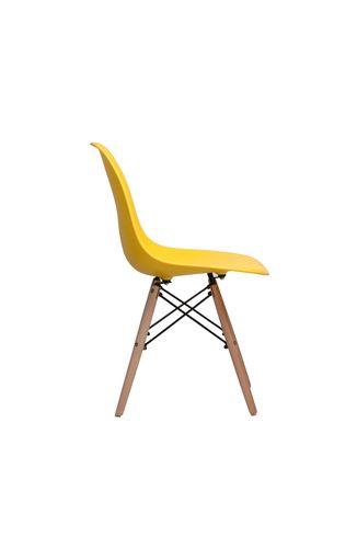 Stoel Vejle - Geel - LiL Design