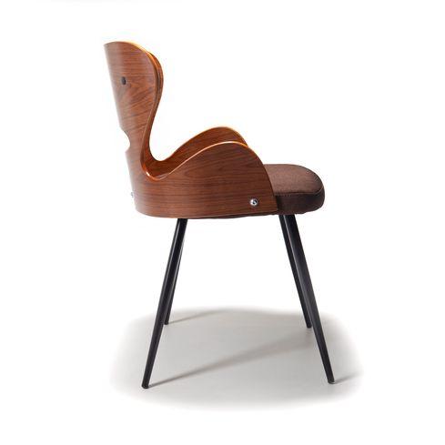 Stoel Bornholm -Bruin - LiL Design