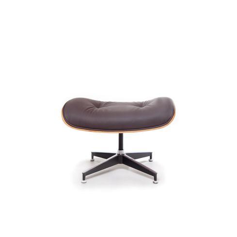 Fauteuil Glostrup met voetenbankje - Bruin - LiL Design
