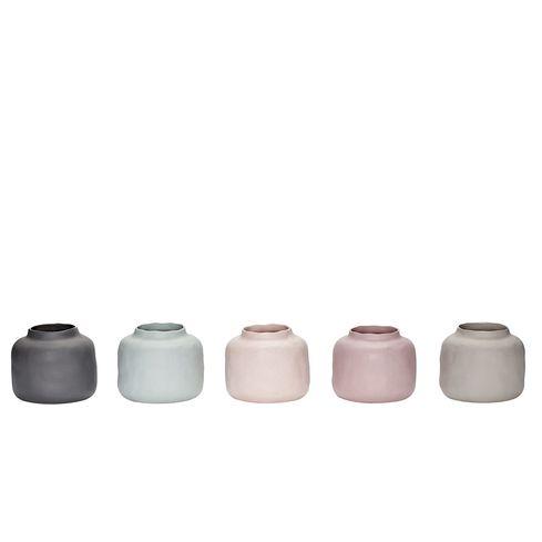 Vazen - Porselein - Set van 5 - Hübsch