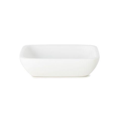 JUNIP SOAP DISH WHITE