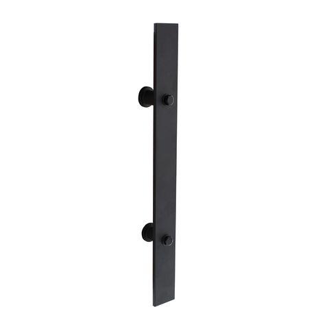 Intersteel Deurgreep 400 x 40 mm mat zwart