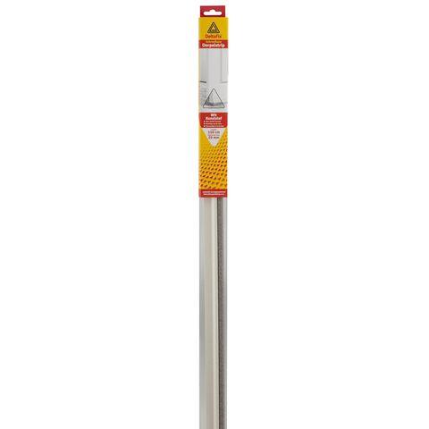 Deltafix Dorpelstrip | Schroefbaar Borstel Wit | 1.10m x 40mm x 20mm