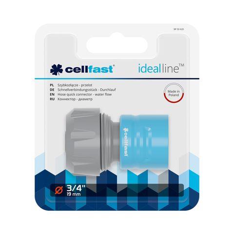 CELLFAST - SNELLE SLANGKOPPELING - IDEAL LINE™ PLUS - 3/4