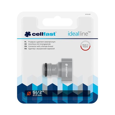 CELLFAST - KOPPELING MET BINNENDRAAD - IDEAL LINE™ PLUS - 1/2