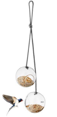Eva Solo vogelvoederbollen glas Ø 10cm - 2 stuks sfeer
