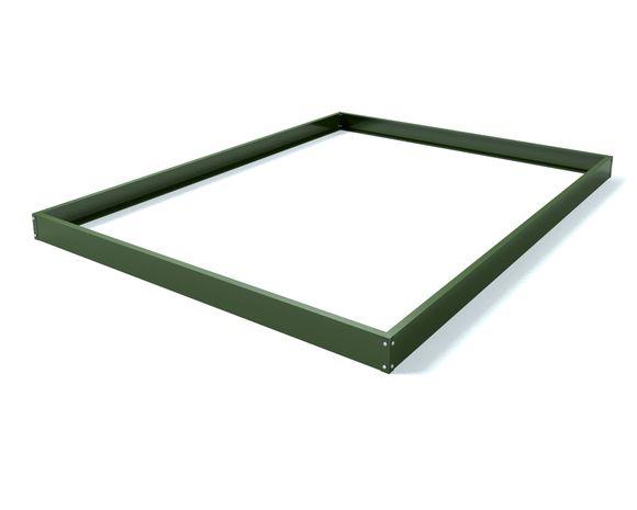 Royal Well Tuinkas en Fundering Popular 86 Groen Polycarbonaat 4mm