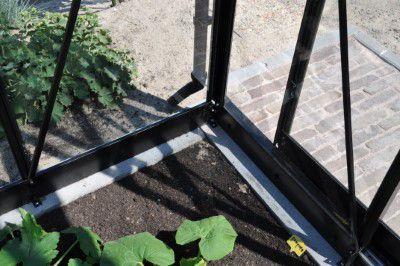 Royal Well Tuinkas Blockley 108 Zwart Gecoat Veiligheidsglas 3mm