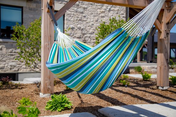 BRAZILIAN COTTON HAMMOCK - DOUBLE - CAYO REEF