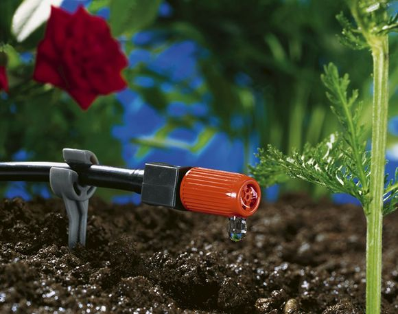 Gardena Micro Drip Einddruppelaar Verstelbaar 20 Liter 10 Stuks