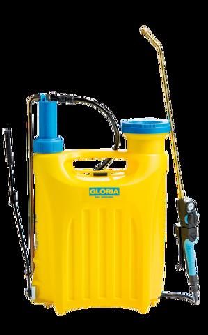 Gloria Pro 1800 - 18 liter kunststof + messing verlengstuk 50 cm.
