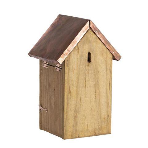 Nestkast pimpelmees koperen dak