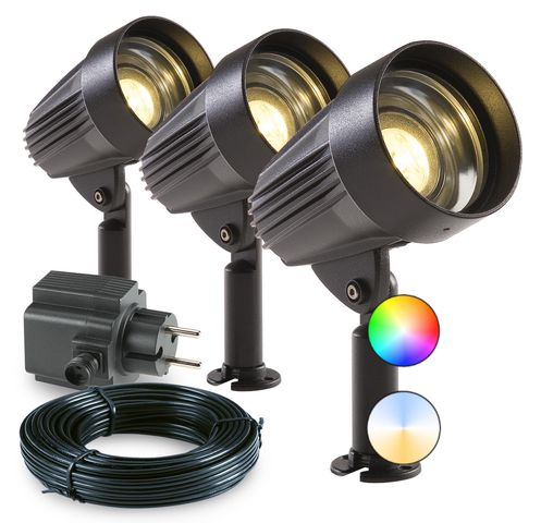 Garden Lights Tuinspot Corvus Set LED Plus Smart